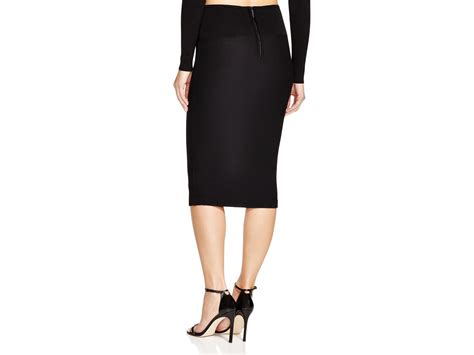 kendall kendall sweater knit pencil skirt