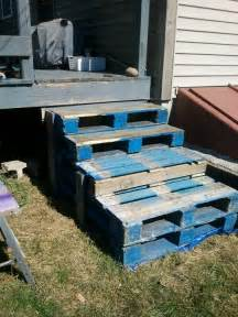 Pallet Stairs by Pallet Stairs Built By Me Winter Party Pinterest