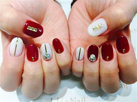 imagenes de uñas decoradas rojo 20 u 241 as de color rojo que necesitas tener ahora mismo