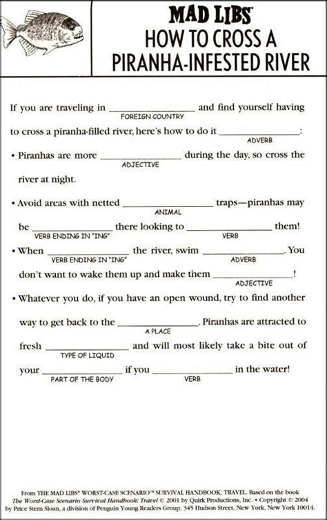 printable road trip mad libs 14 best mad libs images on pinterest mad libs mad libs