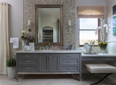 master badezimmer vanity philharmonic house of design master bathroom retreat his