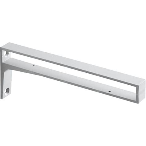 Shelf Supports by Belt Silver Metal Shelf Bracket Bluestoneshelves
