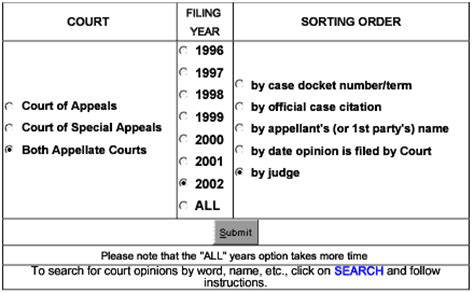 Site Courts State Md Us Maryland Search Md Workers Compensation In The Courts Of Appeals