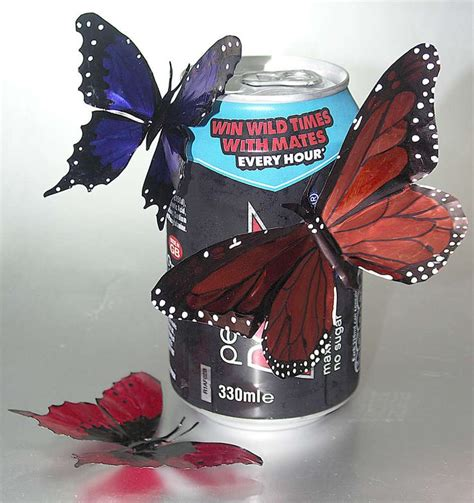butterfly mobile made from aluminum pop cans gingerbread christmas yard art templates woodworking projects plans
