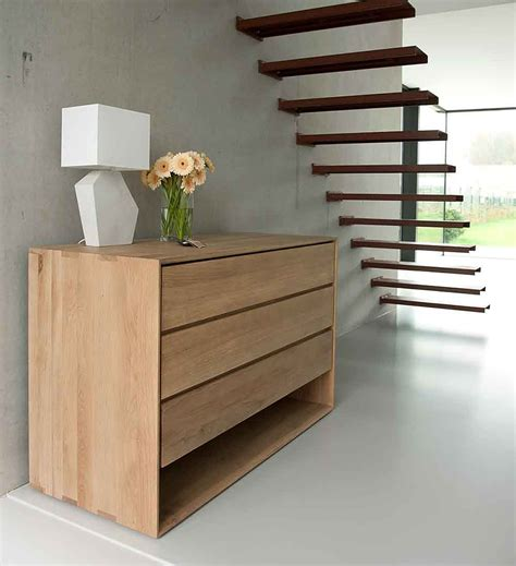 bedroom furniture chest of drawers ethnicraft nordic chest of drawers natural bed company