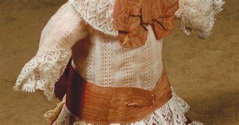porcelain doll 9863 antique doll dress for small bebe 5 189 quot h antique