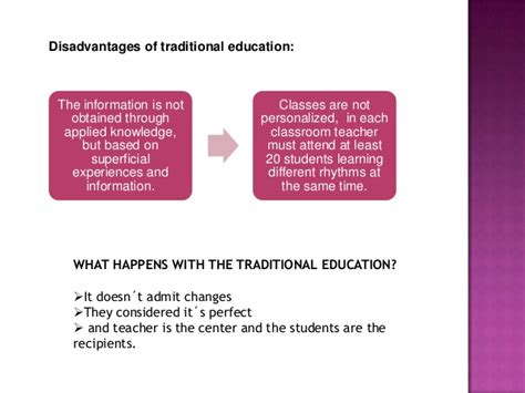 reference book advantages traditional and modern education by fernanda quinchimba