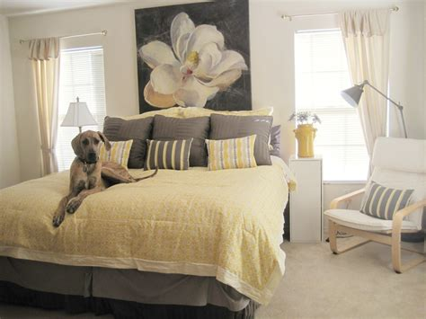 eggplant and grey bedroom home design yellow and grey bedroom decoration ideas in