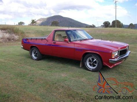 hz holden sandman ute replica for sale in qld