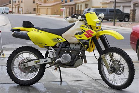 road legal motocross bike drz400e enduro