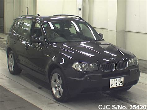 2004 bmw x3 for sale 2004 bmw x3 black for sale stock no 35420 japanese