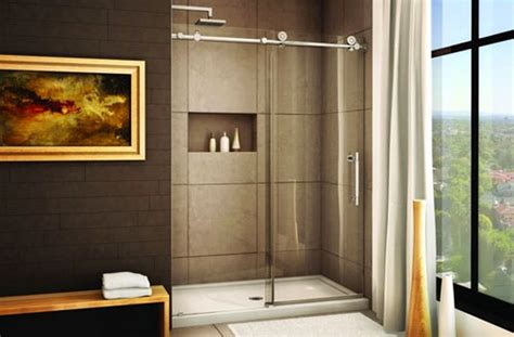 choosing the right shower door at the home depot home