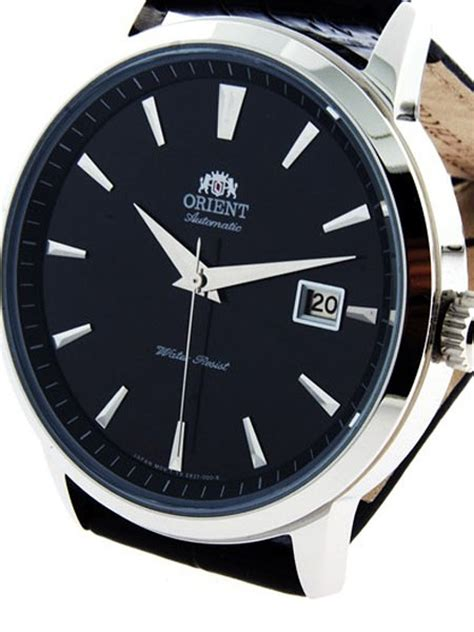 Orient Fune3001b0 Black Silver orient symphony automatic dress with black stainless steel er27006b