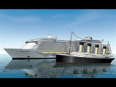 titanic vs big boat titanic compared to biggest ship in the world hqdefault