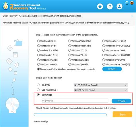 windows password reset tool iso how to create bootable cd dvd from iso in windows 7