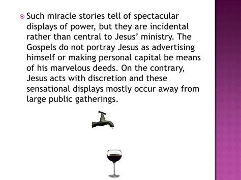 The Miracle Story Telling The Miracles Of Jesus Presentation