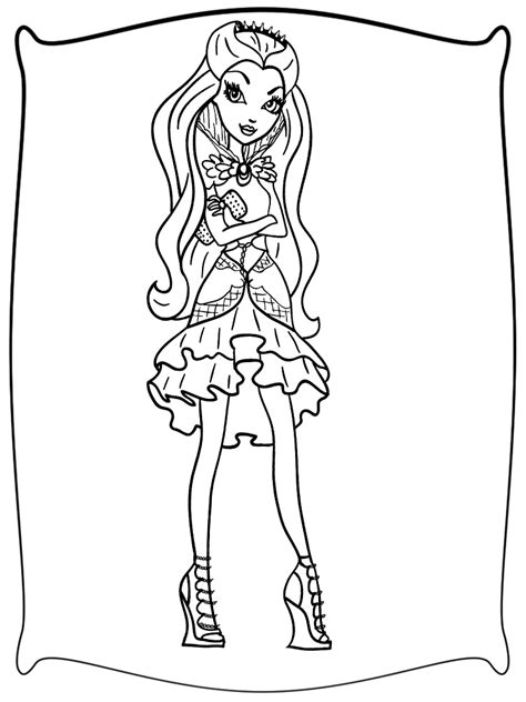 imagenes para dibujar nuevas ever after high dibujos infantiles para colorear