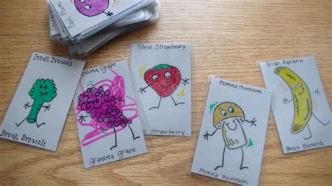 home made games homemade family card game go fish style joyously