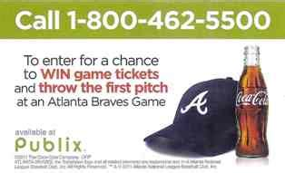 Braves Gift Card - new sweepstakes win braves tickets publix gift cards
