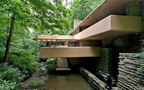 falling water house fallingwater kaufmann residence pennsylvania by frank