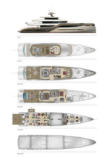 raised pilothouse mega yacht aluminum semi displacement hull  helideck  motion