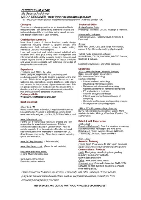 Resume Exles Graphic Designer Position Resume Sle Graphic Design Portfolio Designer Description And Salary Resumes Graphic