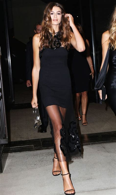 kaia gerber heels the next street style star is here and she s only 15