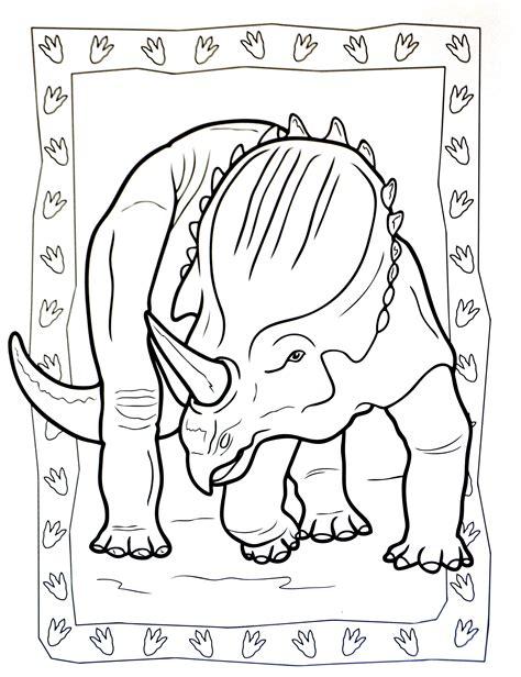 A Imprimer Dinosaure 2 Coloriages De Dinosaures Coloriage Dinosaure TriceratopsL