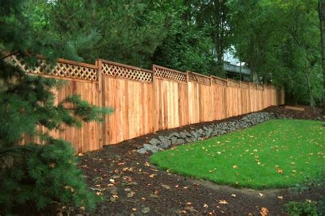 it s all in the details fence row furniture western red the unbeatable fencing material cedar