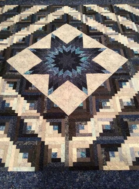 Lone Log Cabin Quilt Pattern by 1000 Images About Lone Log Cabin Quilt On