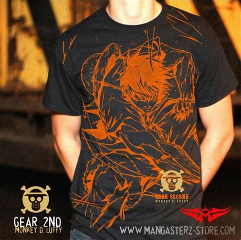 Kaos Luffy 3 1 jual baju kaos anime one luffy gear 2nd di lapak