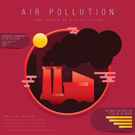 design is in the air air pollution design vector image 1976207 stockunlimited