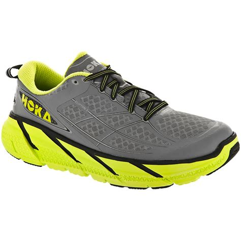 hoka running shoe reviews buy hoka clifton 2 in grey and acid for at northern runner