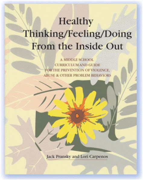 thinking out the how books healthy thinking feeling doing from the inside out