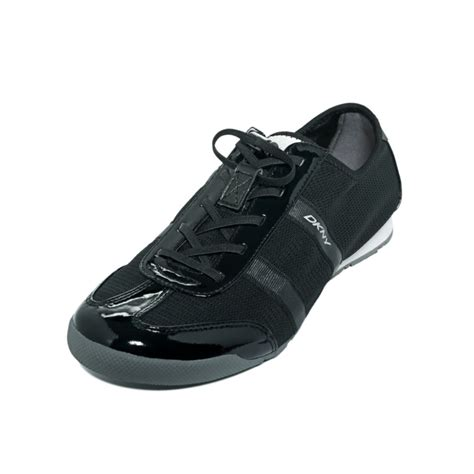 dkny mens sneakers dkny foundation sneakers in black lyst