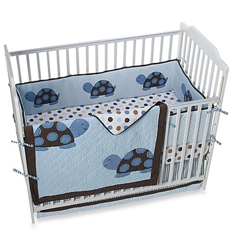 Turtle Crib Bedding Set Mod Turtle Crib Bedding And Accessories Bed Bath Beyond
