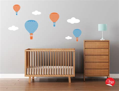 Balloon Nursery Decor Baby Nursery Air Balloons Decals Modern Nursery Decor Seattle By Cherry Walls
