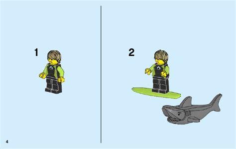 Dijamin Lego 60163 City Coast Guard Starter Set lego coast guard starter set 60163 city