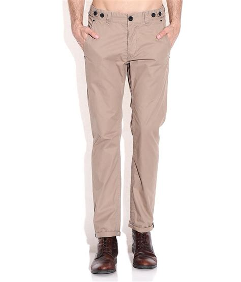 comfort chions breakbounce khaki comfort fit chino trousers buy