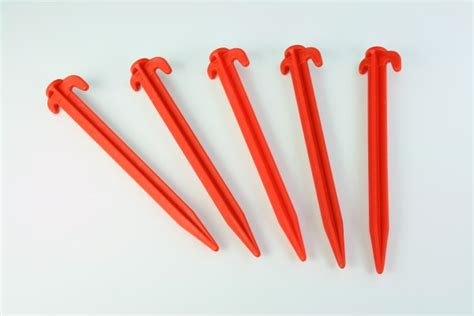 awning pegs awning tent pegs 8 quot red 10 pack