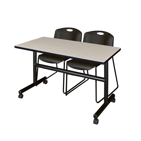 flip top mobile table kobe 48 quot flip top mobile training table maple 2 zeng