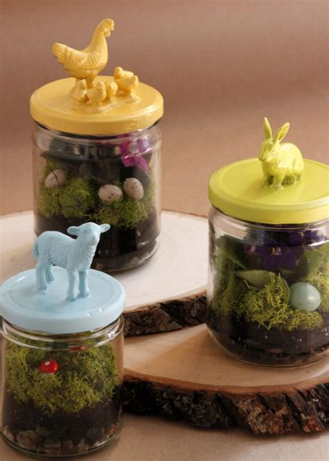 miniature easter terrariums hgtv