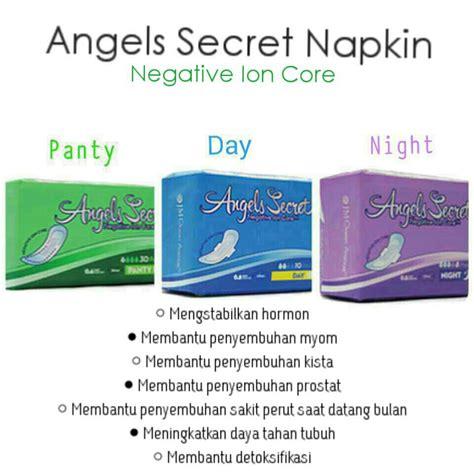 Secret Sanitary Napkin Jmoa jual secret sanitary napkin negative ion