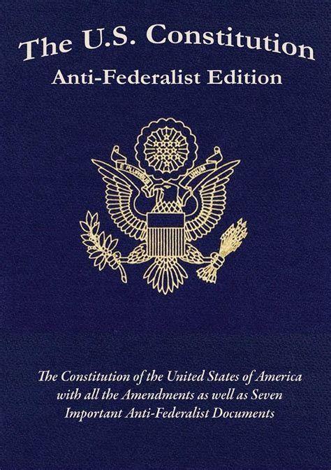 the constitution books the us constitution anti federalist edition ebook by