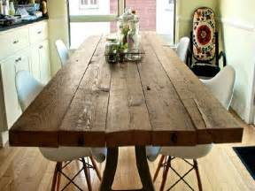 Salvaged Wood Dining Room Tables Reclaimed Wood Dining Room Table