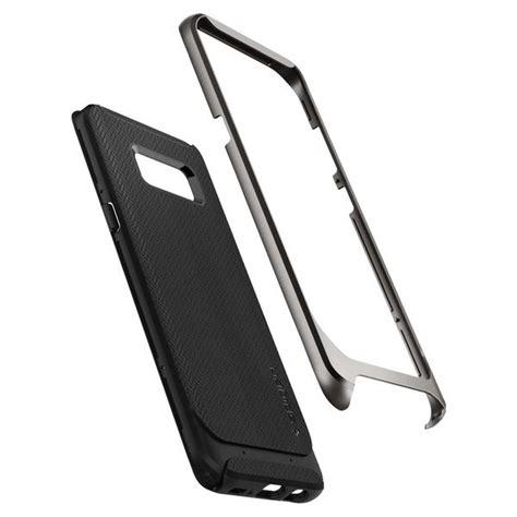 Spigen Neo Hybrid Samsung Galaxy S8 Gunmetal spigen neo hybrid till samsung galaxy s8 plus gunmetal