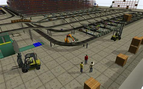 Floor Plan Of Factory flexsim flexsim simulation software