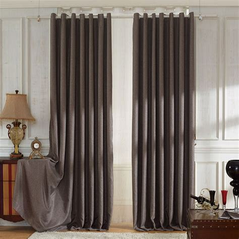Living Room Curtains Brown Decorative Solid Brown Modern Curtains Living Room