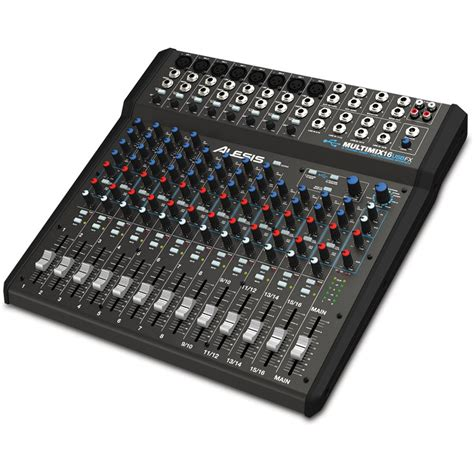 Mixer Audio 16 Channel alesis multimix 16 usb fx 16 channel mixer multimix 16 usb fx