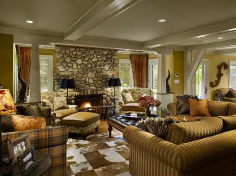styles of living rooms southwestern lodge style living room hgtv